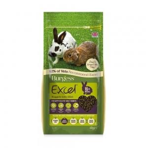 Burgess Excel Conejo Adulto