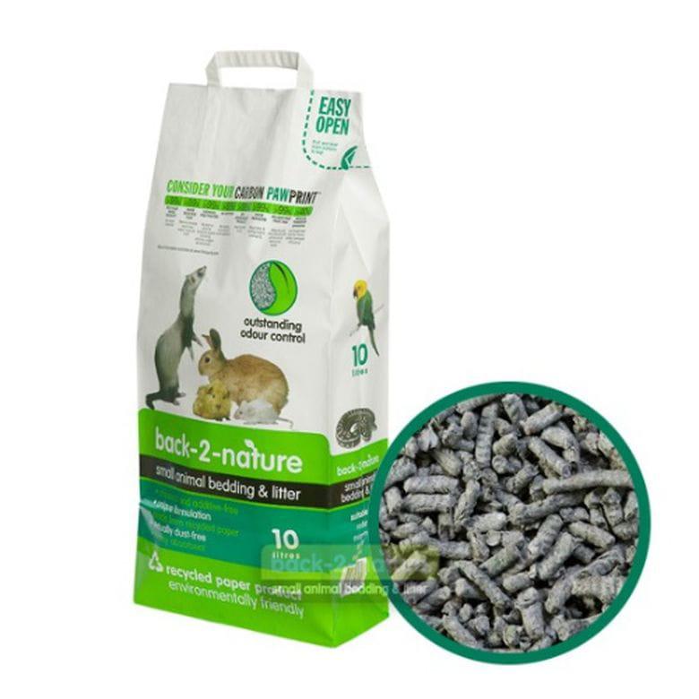 Pellets de Papel reciclado