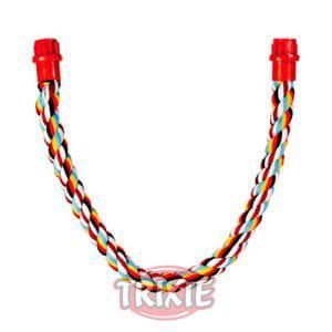 Cuerda trenzada multicolor