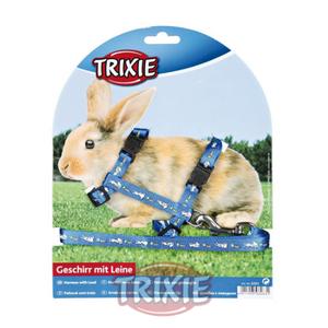 Arnés y correa conejo trixie