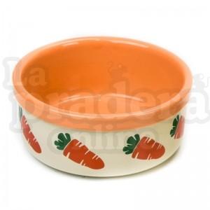 Cuenco rosewood zanahorias