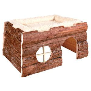 Camita Castillo de madera 39x20x29cm