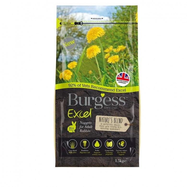 Burgess Excel Nature´s Blend 1,5 Kg