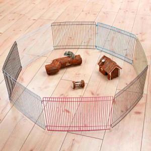 Recinto pequeños roedores (34x23cm)x8