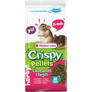 Crispy pellets Chinchilla y Degú 1Kg
