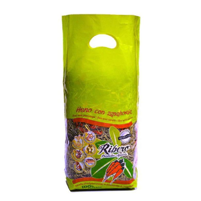 Heno de Festuca con Zanahoria 500g