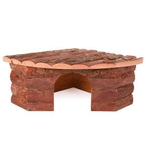 Casita de madera 42x15x30/30cm