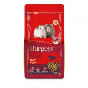 Burgess Excel para Ratas 1,5 kg.