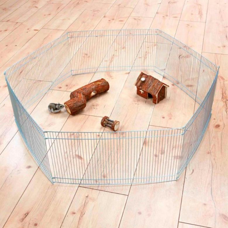 Recinto pequeños roedores (48x25cm)x6