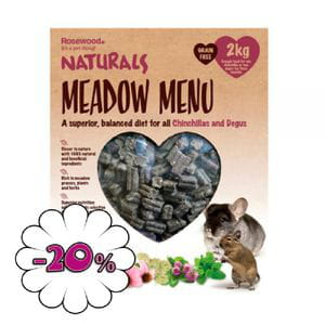 Meadow Menu Chinchilla y Degú 2Kg