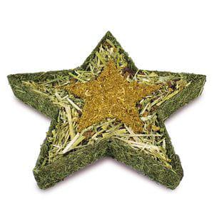 Estrella rellena de heno y caléndula - Especial Navidad