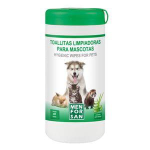 Toallitas Limpiadoras para Mascotas 60ud