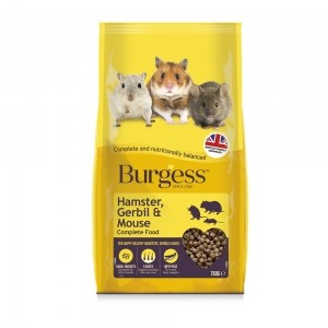 Burgess Hamsters, Jerbos & Ratones
