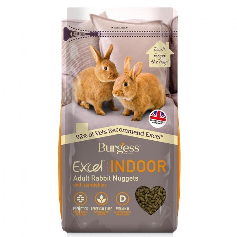 Burgess Excel - Conejo Indoor 1.5Kg