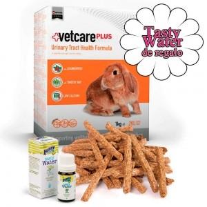 Vetcare Plus Conejo - Salud del Tracto Urinario + Tasty Water de Regalo