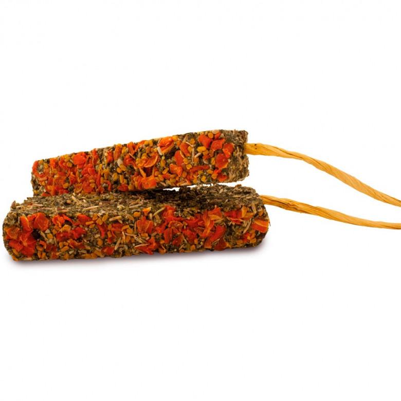 Barritas sin cereales con Zanahoria y Alholva 140gr