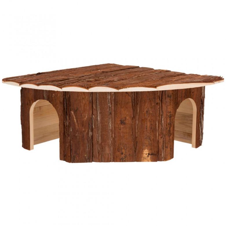 Casita de madera 52x18x37/37cm