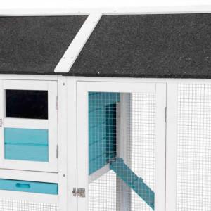 Recinto exterior azul 156x110x80cm