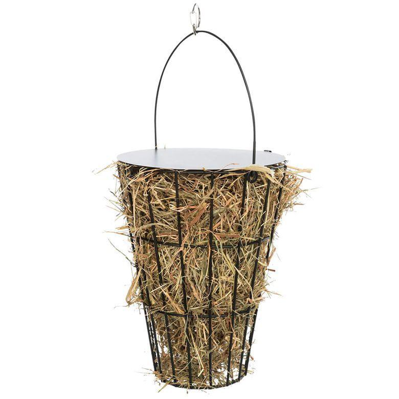 Porta heno para colgar