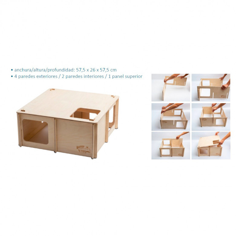 Laberintos de madera Puppijames