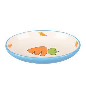 Platillo cerámico zanahoria
